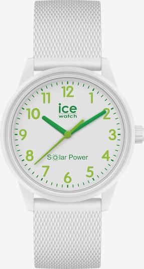 ICE WATCH Uhr in grün / hellgrün / weiß, Produktansicht