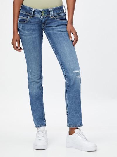 Pepe Jeans Дънки 'VENUS' в син деним, Преглед на модела