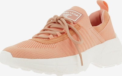 KENDALL + KYLIE Sneaker 'GLEASON' in pfirsich: Frontalansicht