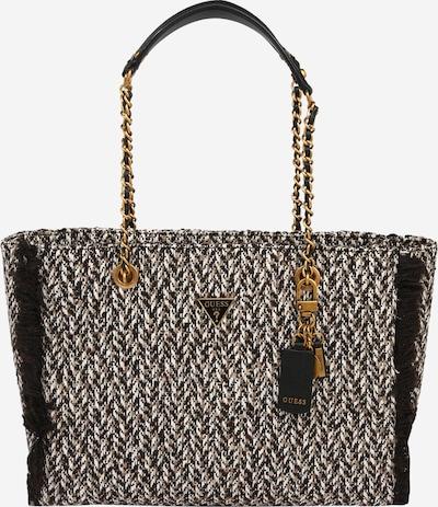 GUESS Tasche 'CESSILY' in braun / schwarz / weiß, Produktansicht