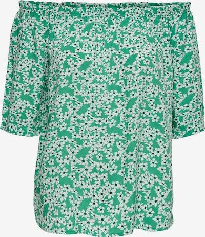 JDY Bluse in smaragd / hellgrün / weiß, Produktansicht