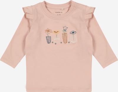 NAME IT Bluser & t-shirts 'DONNA' i mørkeblå / honning / lemon / gammelrosa / hvid, Produktvisning