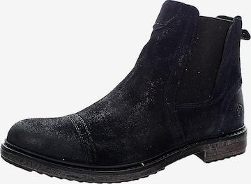 Lumberjack Chelsea Boots 'Theo' in Blau