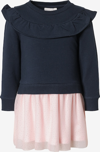 NAME IT Kleid 'Foglitter' in dunkelblau / hellpink, Produktansicht