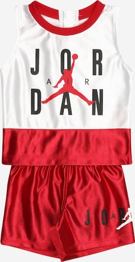 Jordan Treniņtērps, krāsa - sarkans / balts, Preces skats