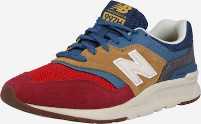 kék / világosbarna / piros / bordó / fehér new balance Rövid szárú edzőcipők '997', Termék nézet