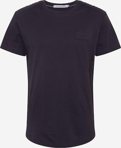 Tricou Calvin Klein Jeans pe negru, Vizualizare produs