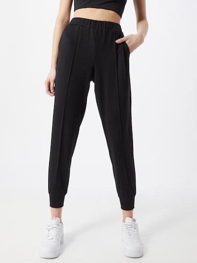 Y.A.S Sweathose 'Kikko' in schwarz, Modelansicht