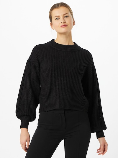 VERO MODA Trui 'Furn' in de kleur Zwart, Modelweergave
