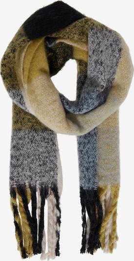 ICHI Sjaal 'AGGE SC' in de kleur Blauw / Geel, Productweergave