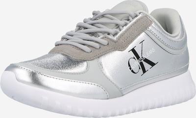 Sneaker low Calvin Klein Jeans pe negru / argintiu / alb, Vizualizare produs