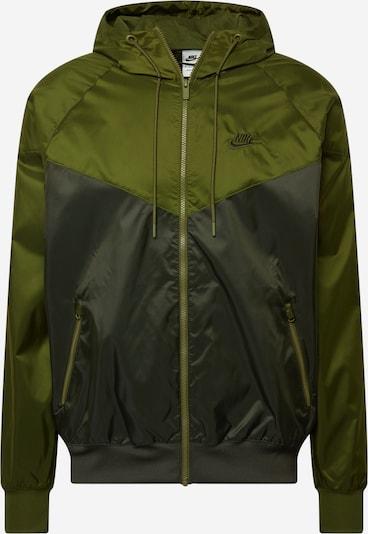 Nike Sportswear Veste mi-saison en olive / vert foncé, Vue avec produit
