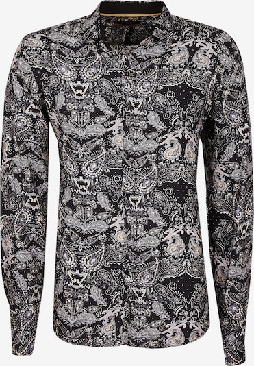 Leif Nelson Hemd in schwarz / weiß, Produktansicht