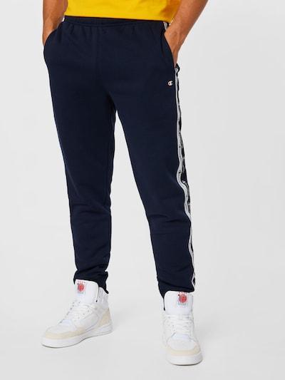 Pantaloni Champion Authentic Athletic Apparel pe bleumarin / negru / alb, Vizualizare model