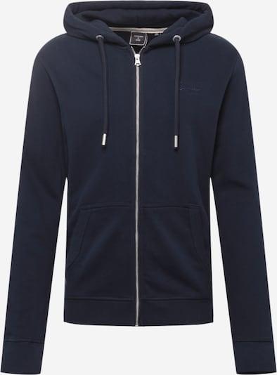 Superdry Zip-Up Hoodie in Dark blue, Item view
