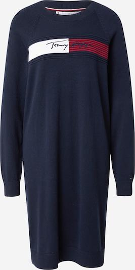 TOMMY HILFIGER Kleid in dunkelblau / rot / weiß, Produktansicht