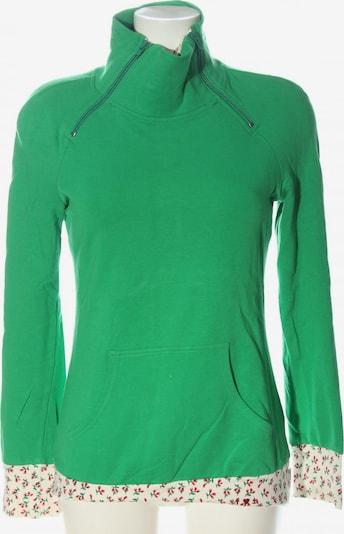 Blutsschwester Sweatshirt in S in creme / grün / rot, Produktansicht