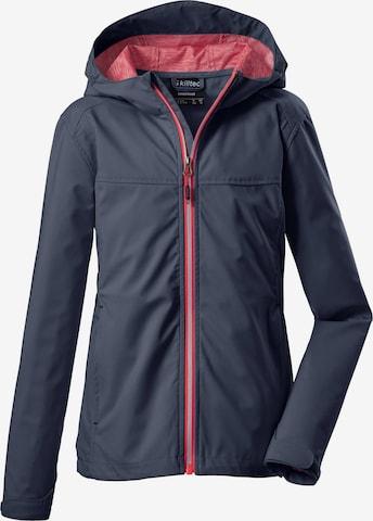 KILLTEC Outdoor jacket 'Tanesh' in Blue