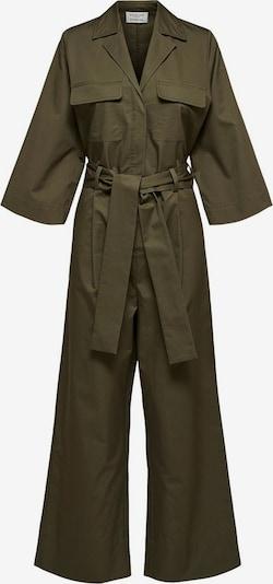 SELECTED FEMME Jumpsuit 'Utility' in de kleur Kaki, Productweergave