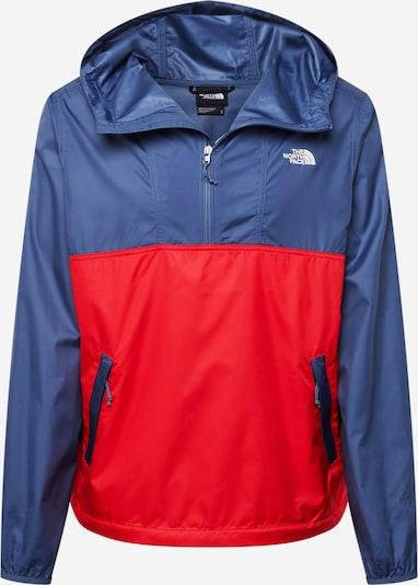 THE NORTH FACE Prechodná bunda 'CYCLONE' - námornícka modrá / svetločervená / biela, Produkt