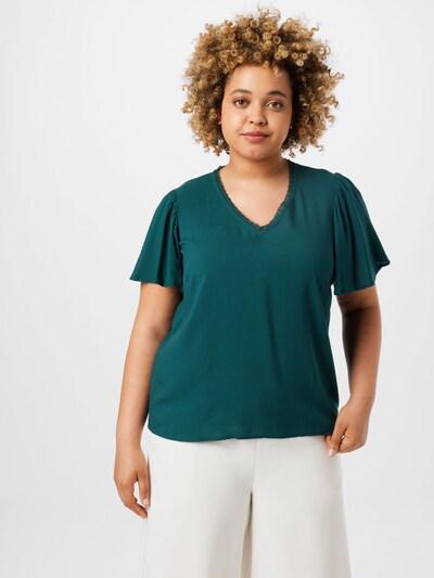 Bluză 'NADS' Vero Moda Curve pe verde smarald, Vizualizare model