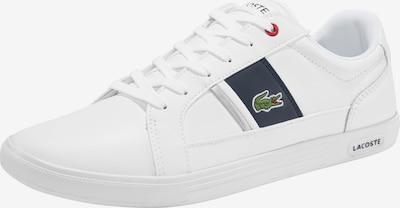 LACOSTE Sneaker 'Europa' in navy / grasgrün / rot / weiß, Produktansicht