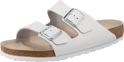 BIRKENSTOCK Pantolette 'Arizona' in weiß, Produktansicht