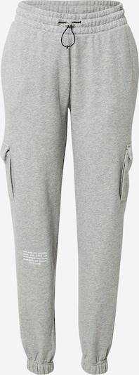 Nike Sportswear Pantalón 'Swoosh' en gris moteado / blanco, Vista del producto