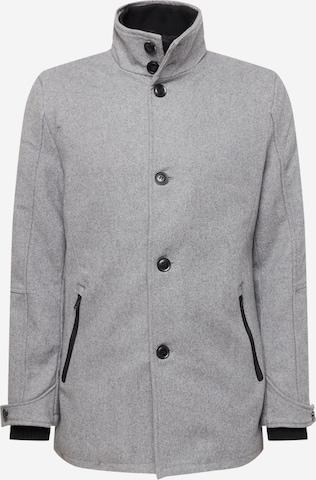 INDICODE JEANS Overgangsjakke 'Clark' i grå