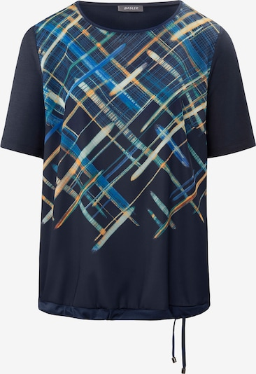 Basler T-Shirt in marine / hellblau / gelb, Produktansicht