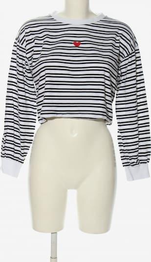 CLOCKHOUSE by C&A Cropped Pullover in M in rot / schwarz / weiß, Produktansicht