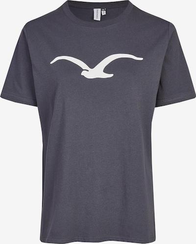 Cleptomanicx Shirt 'Möwe' in dunkelgrau, Produktansicht