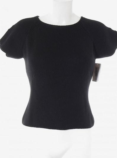 Gianfranco Ferré Kurzarmpullover in L in schwarz, Produktansicht