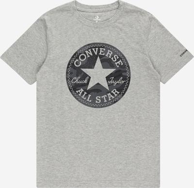 CONVERSE T-Shirt 'JUNGLE' in dunkelgrau / graumeliert, Produktansicht