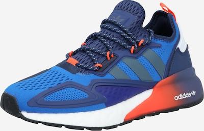 ADIDAS ORIGINALS Sneaker 'ZX 2K' in blau / dunkelblau / weiß, Produktansicht