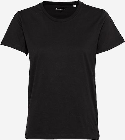 KnowledgeCotton Apparel Camiseta 'ROSA' en negro, Vista del producto