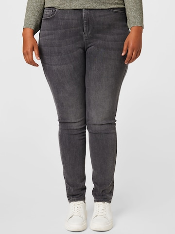 PIECES Curve Jeans 'LILI' in Grey