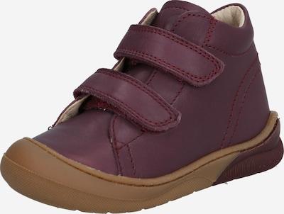 NATURINO Chaussure basse en prune, Vue avec produit