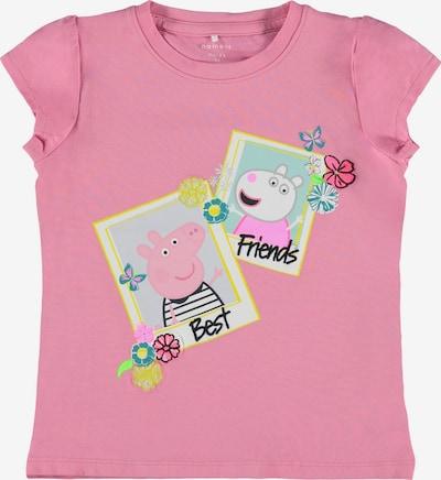 NAME IT Shirt 'MEGAN' in beige / gelb / pink, Produktansicht