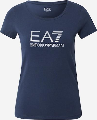 EA7 Emporio Armani T-Shirt in navy / weiß, Produktansicht