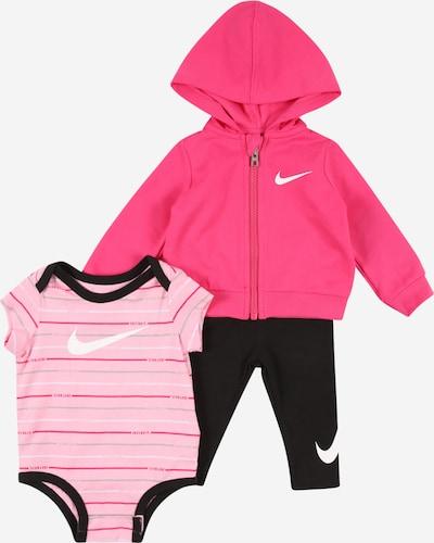Nike Sportswear Set in pink / rosa / schwarz / weiß, Produktansicht