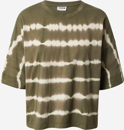 Noisy may Paita 'BUSTER' värissä khaki / valkoinen: Näkymä edestä