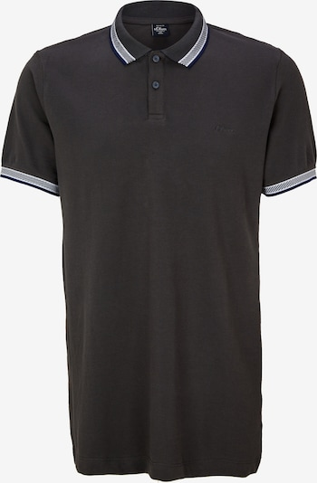 s.Oliver Men Tall Sizes Poloshirt in anthrazit, Produktansicht