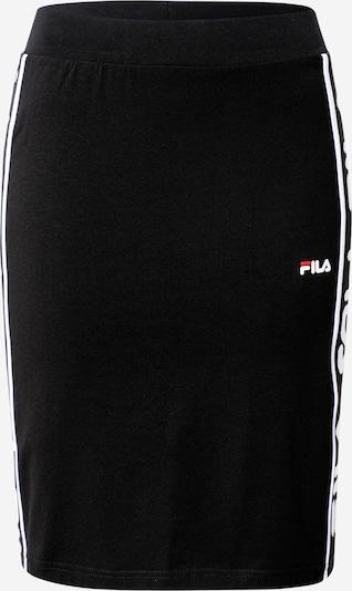 FILA Sukně 'FRIDA' - černá / bílá, Produkt
