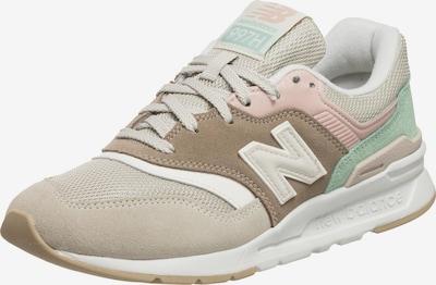 Sneaker bassa new balance di colore beige / beige chiaro / menta / rosa pastello, Visualizzazione prodotti