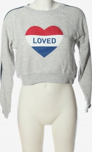 Subdued Sweatshirt in S in blau / hellgrau / rot, Produktansicht