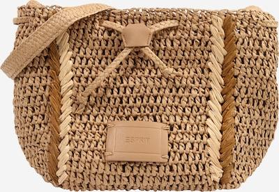ESPRIT Tasche in beige / karamell / hellbraun, Produktansicht