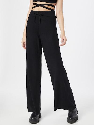 OBJECT Pantalon 'DEVOE' en noir, Vue avec modèle