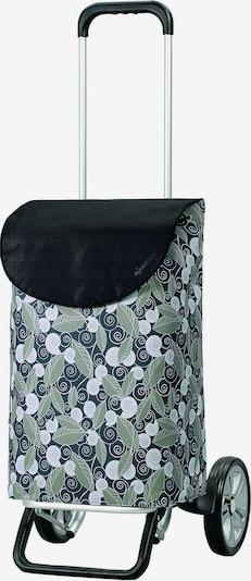 Andersen Shopper Einkaufstrolley 'Alu Star Shopper Susi' 58 cm in grau / grün / schwarz / weiß, Produktansicht