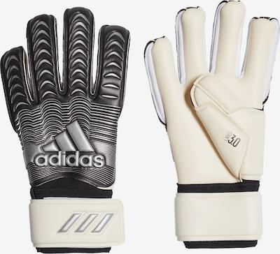 ADIDAS PERFORMANCE Handschuh in schwarz / silber / weiß, Produktansicht